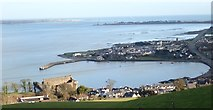 J1811 : King John's Castle and Carlingford Harbour by Eric Jones