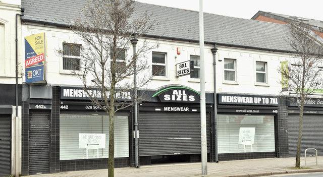Nos 442-448 Newtownards Road, Belfast (March 2018)