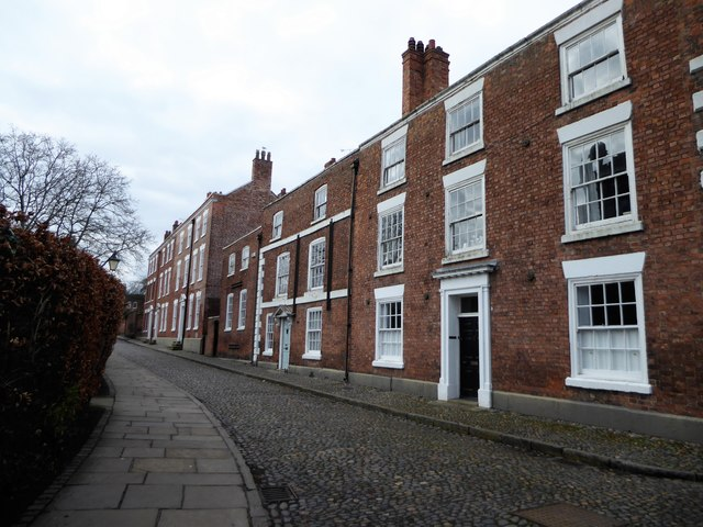 Town houses on Abbey Street