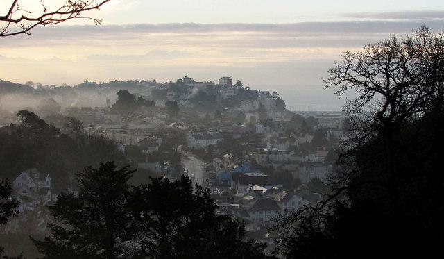 Misty morning in Torquay