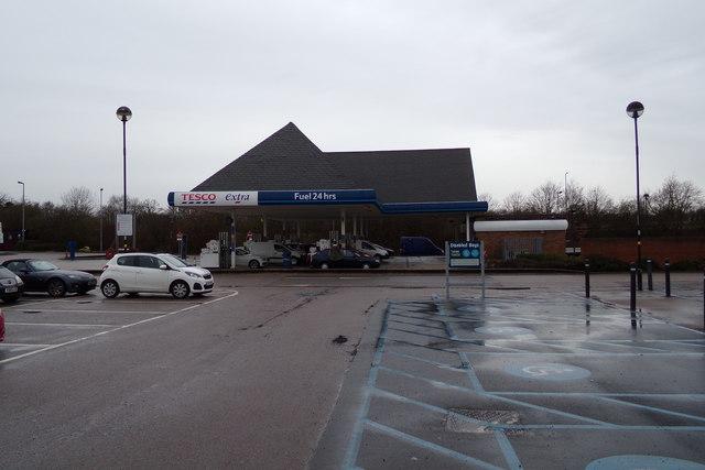 Tesco Extra Fuel Filling Station, Hatfield