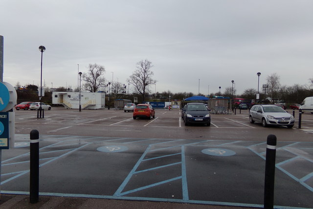 Tesco Extra Superstore Car Park, Hatfield