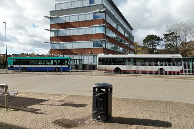 Buses, Crawley bus station