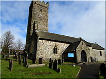 SN4201 : St Illtyd's Church, Pembrey by Jaggery