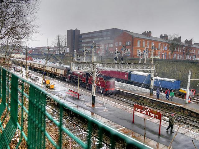 East Lancashire Railway, Bolton Street Station