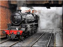 "SD8010 : ""Black 5"" at Bury by David Dixon"