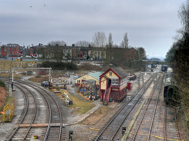 Bury South Junction and Signal Box