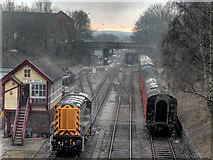 SD8010 : Diesel Shunter at Bury South by David Dixon