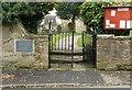 SK3528 : Diamond Jubilee gates, St Wilfrids Church, Barrow-upon-Trent by Alan Murray-Rust