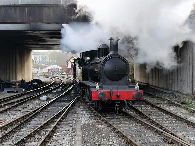 Austerity Locomotive on the East Lancashire Railway