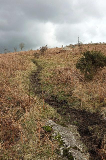 Path up Meldon Hill