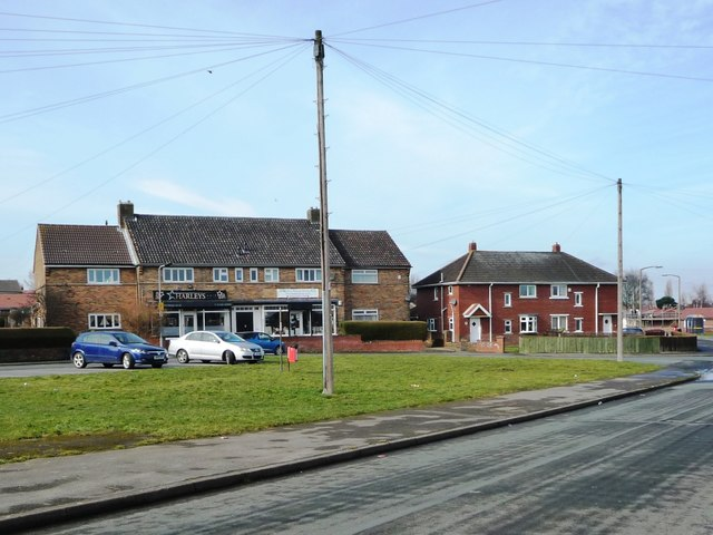 Shops on Derwent Road, Athersley South