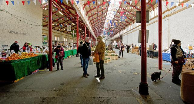 South Molton Pannier Market