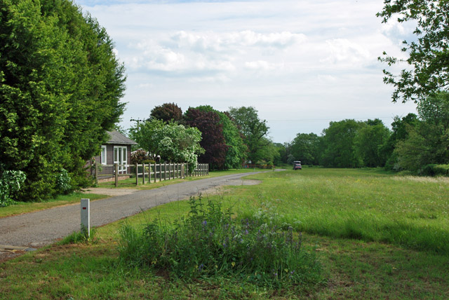 Angmering Park access road