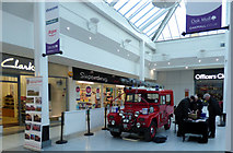 NS2776 : Austin Gipsy fire appliance in the Oak Mall by Thomas Nugent
