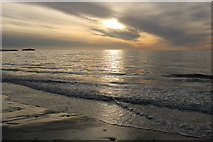 NX1896 : Sunset at Ainslie Shore by Billy McCrorie