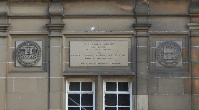 Stirling Public Library: detail