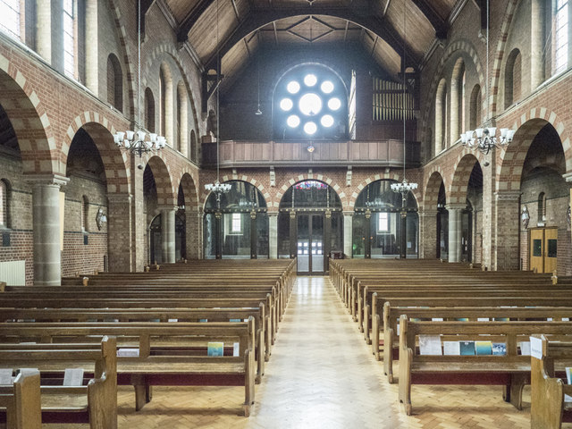St Widefride, Latimer Road - West end