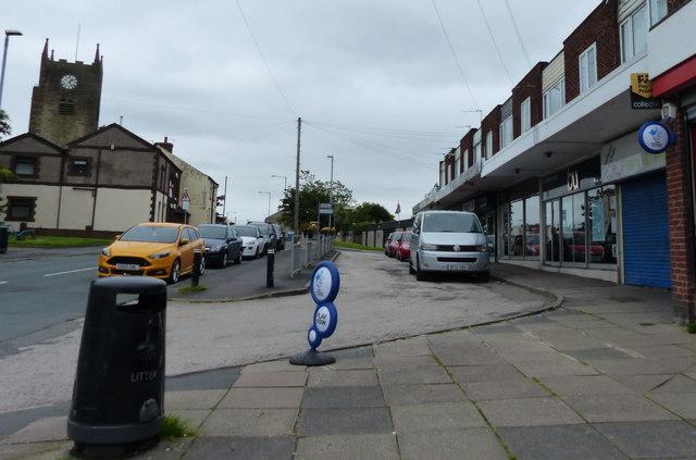 Shops on Blackhorse Street in Blackrod