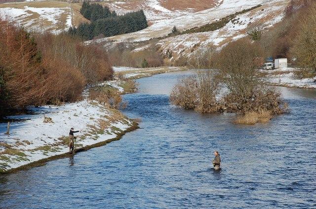 Fishing in the Tweed, Cardrona