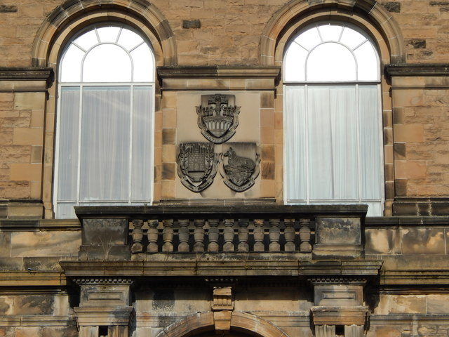 Albert Halls: detail