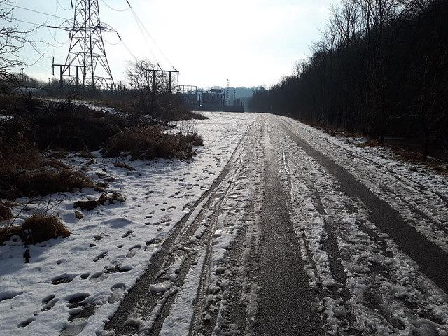 Icy road ahead