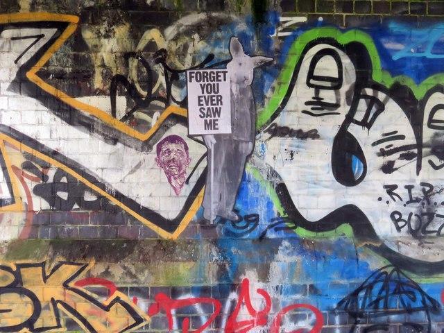 Graffiti under Gasworks Bridge