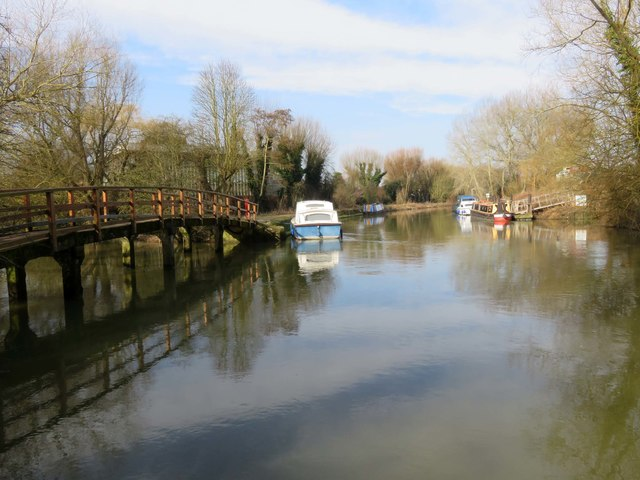 The River Thames in Osney