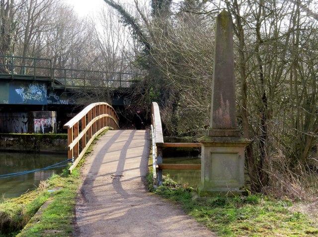 Boney's Bridge and the Edgar George Wilson Memorial