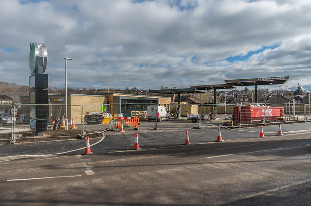 Petrol station, Coronation Avenue - under construction