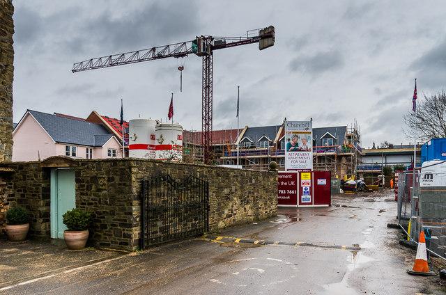 Churchill Retirement Apartments - under construction