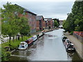 SD5804 : Leeds and Liverpool Canal in Wigan by Mat Fascione