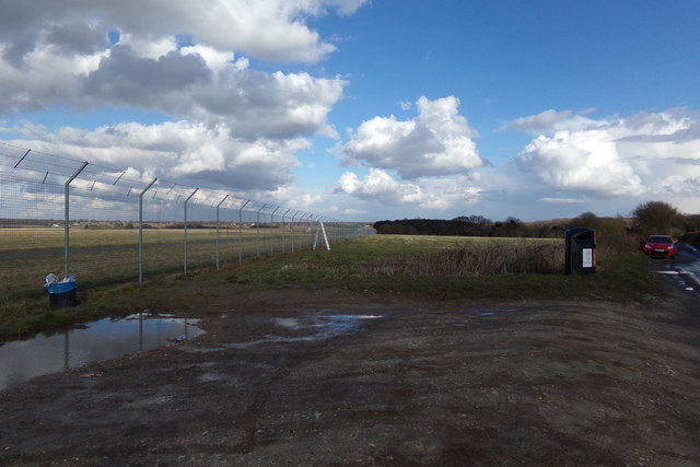 Field next to London Luton Airport
