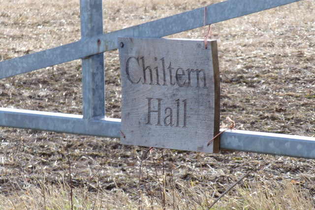 Chiltern Hall sign