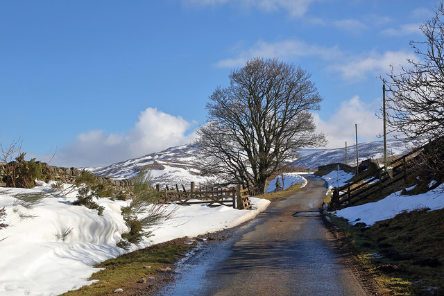 The Swire Road at Yarrow
