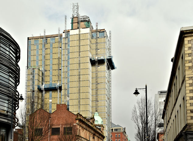 Windsor House redevelopment, Belfast - March 2018(4)