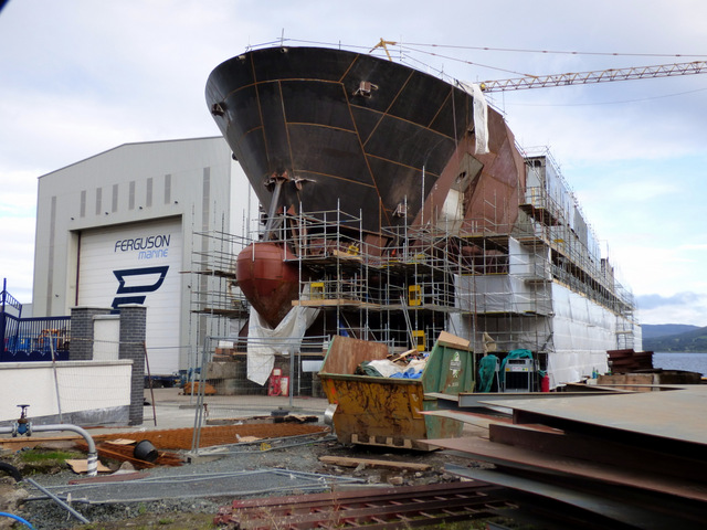 Ferguson Marine shipyard redevelopment