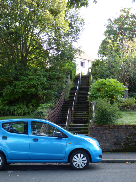 Steps leading to Nimmo Street