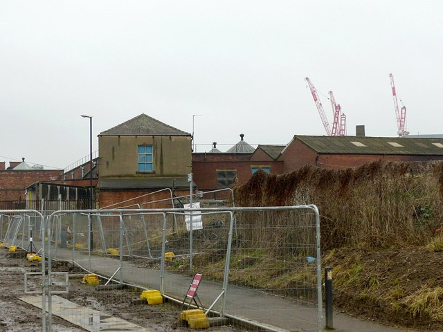 The rear of Temple Works