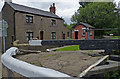 SD6006 : Lock keeper's cottage at Wigan Top Lock No 65 by Mat Fascione