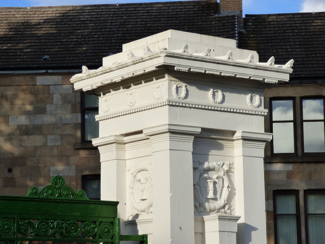 Greenock Cemetery Gates renovation