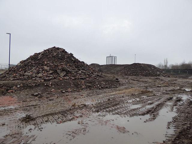 Building site west of Bath Road