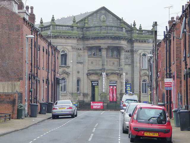 Holbeck Mills from a distance