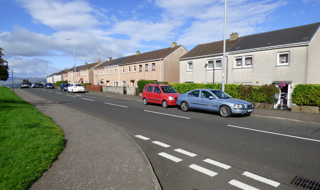 Houses on Auchenbothie Road