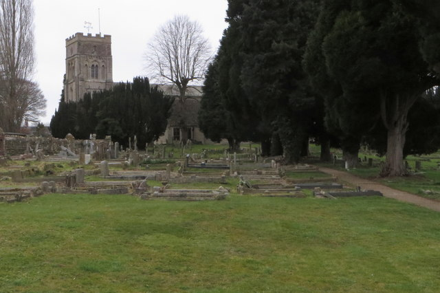 Churchyard of St Peter with St James