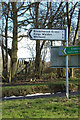 TL1320 : Roadsign on Chiltern Green Road by Adrian Cable