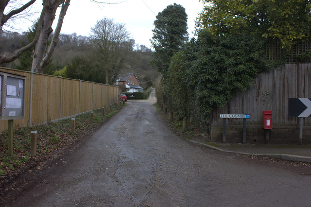 The Coombe, off Pebblehill Road