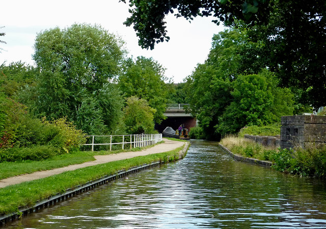 Coventry Canal east of Fazeley in Staffordshire