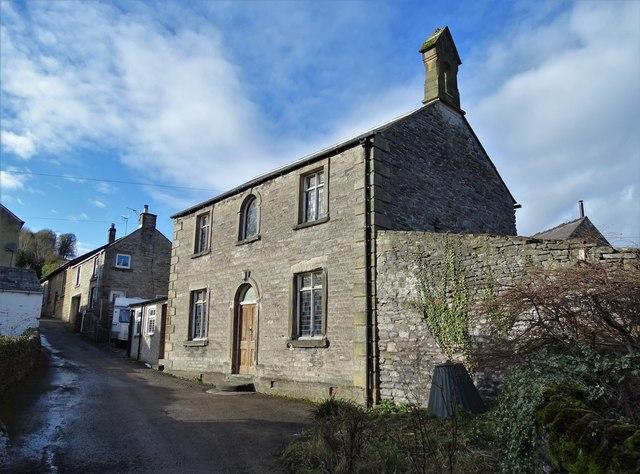 The Wesleyan Reform Chapel in Stoney Middleton