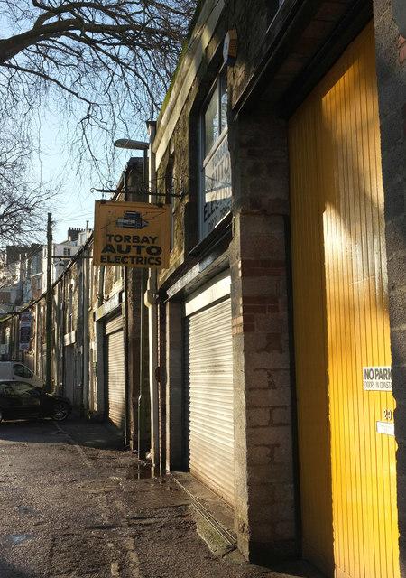 Garages, Magdalene Road, Torquay